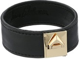 Sam Edelman Narrow V Lock Leather Bracelet Bracelet