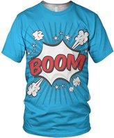 alloverprint.it All Over Print Pop Art Series Boom Ladies Fashion T Shirt, M