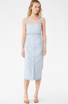 Rebecca Taylor Slub Denim Dress