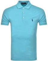 Ralph Lauren Pima Polo T Shirt Blue