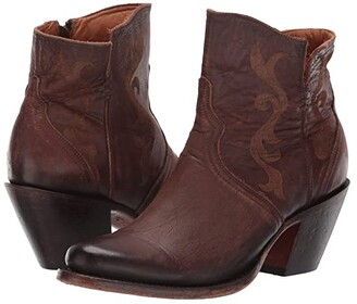 Lucchese Alondra (Chocolate) Cowboy Boots