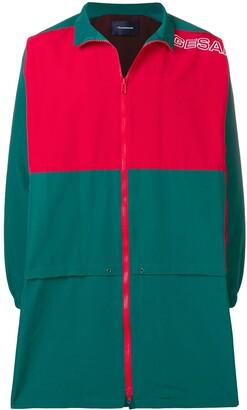 John Undercover Colourblock Mid-Length Sports Jacket