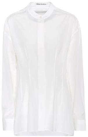 Acne Studios Basic Dry cotton poplin shirt