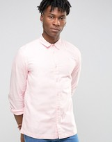 WÅVEN Slim Fit Shirt in Pale Pink