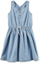 Carter's Chambray Cotton Dress, Toddler Girls (2T-4T)