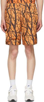 John Elliott Orange Practice Shorts