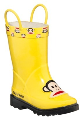 Paul Frank Toddler for Target Monkey Rain Boots - Yellow