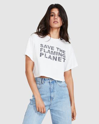 Insight Flaming Planet T-Shirt