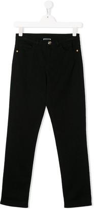 Versace TEEN slim fit jeans