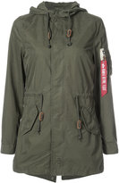 Alpha Industries Diplomat Fishtail parka - women - Cotton/Nylon - S