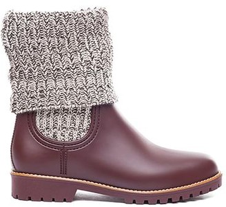Bernardo Zurich Rubber Boot Chocolate