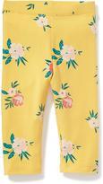 Old Navy Printed Capri Leggings for Toddler Girls