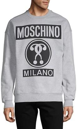 Moschino Logo Graphic Sweatshirt