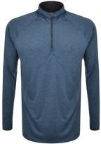 Under Armour Half Zip Tech Sweatshirt Navy