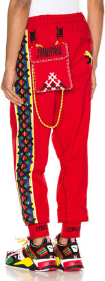 Puma Select x Jahnkoy Pants in High Risk Red   FWRD