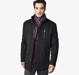 Johnston & Murphy Diagonal Wool Car Coat