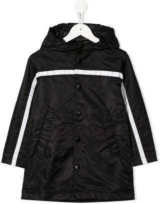 No.21 Kids hooded raincoat