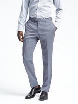 Banana Republic Standard Light Blue Wool Suit Trouser