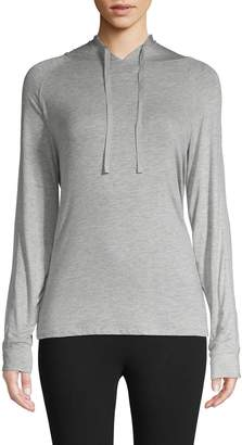 Andrew Marc Drawstring Hooded Tee