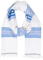 Lemlem Striped Fringe Scarf