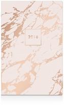 Fringe Blush Marble 17 Month Planner