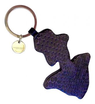 Bottega Veneta Purple Leather Bag charms