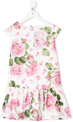 MonnaLisa Floral Sleeveless Dress