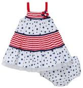 Little Me Infant Girl's Americana Sundress