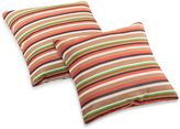 Bed Bath & Beyond Hamster Outdoor Pillow in Earthy Stripes
