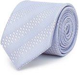 Reiss Shaw - Tonal Stripe Silk Tie in Blue, Mens