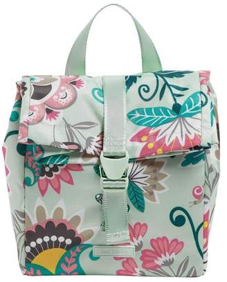 Vera Bradley Mint Flowers Lunch-Tote