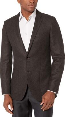 Buttoned Down Amazon Brand Men's Slim Fit Italian Wool Herringbone Sport Coat