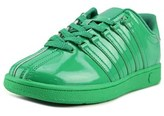 K-Swiss Classic Vn Round Toe Patent Leather Sneakers.