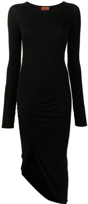 Alix Bristol long-sleeved midi dress