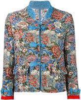 Ermanno Scervino floral jacquard jacket - women - Silk/Cotton/Acrylic/other fibers - 38