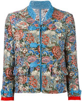 Ermanno Scervino floral jacquard jacket - women - Silk/Cotton/Acrylic/other fibers - 40