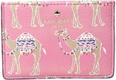Kate Spade Spice Things Up Camel March Card Holder Credit card Wallet