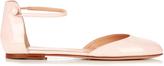 Gianvito Rossi 54 patent-leather flats