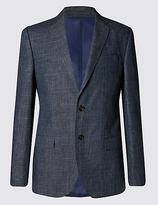 Marks And Spencer Marks And Spencer Big & Tall Single Breasted 2 Button Jacket
