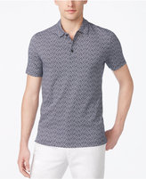 Perry Ellis Men's Classic-Fit Leaf-Print Polo