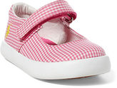 Ralph Lauren Toddler Pippa Gingham Canvas Sneaker