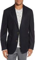 Men's Big & Tall Flynt Regular Fit Wool Blend Knit Sport Coat