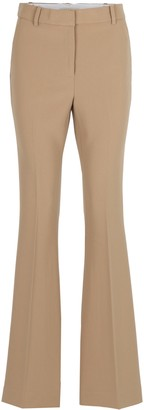 MICHAEL Michael Kors Flared Acetate Trousers