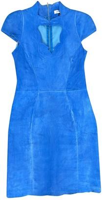 Jitrois Blue Suede Dress for Women