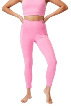 Cotton On Women's Lifestyle Pocket 7/8 Tights