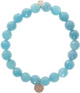 Sydney Evan Quartz Disc Bracelet