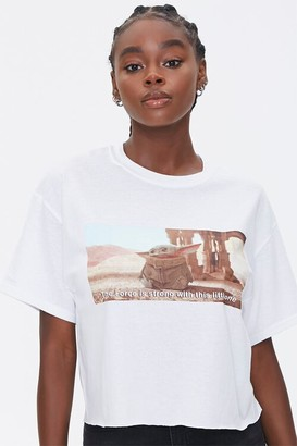 Forever 21 Baby Yoda Graphic Tee