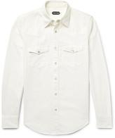 Tom Ford - Slim-fit Denim Western Shirt