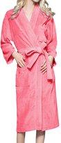 LAPAYA Women's Turkish Kimono Robes Long Sleeve Cotton Spa Terry Cloth Bathrobes