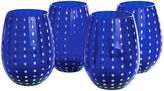 JCPenney Artland Cambria Set of 4 Stemless Glass Tumblers